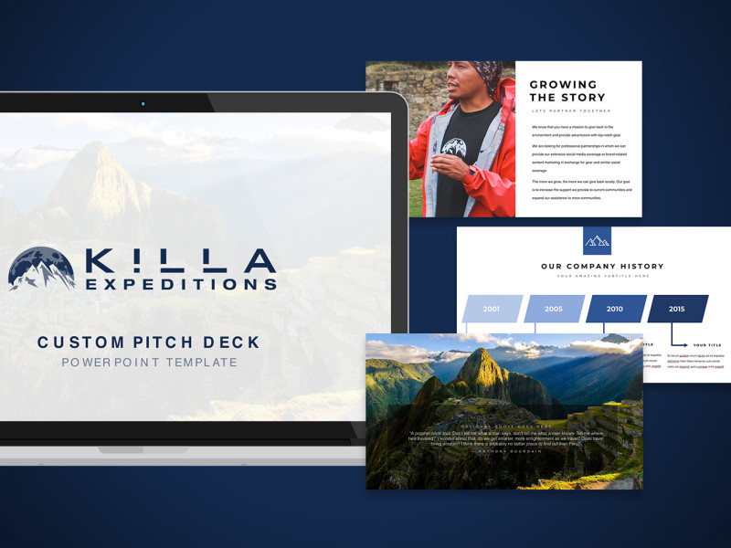 Killa Expeditions Pitch Deck Template