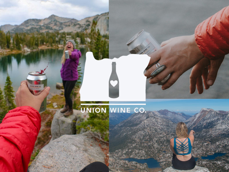 union wine co collaboration with Her Oregon Life and Hello Adventure Co.