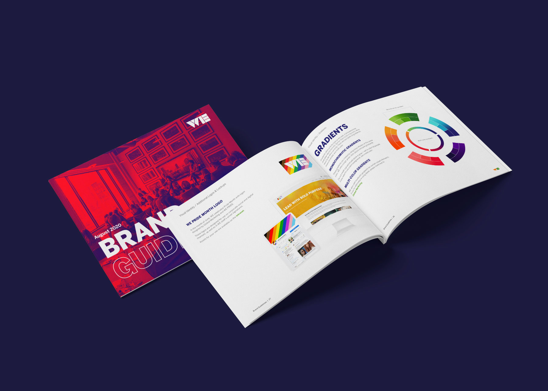 WE Agency Brand Guidelines Visual Identity Refresh Design